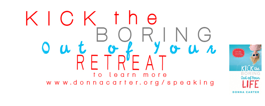 Kick the Boring Retreat