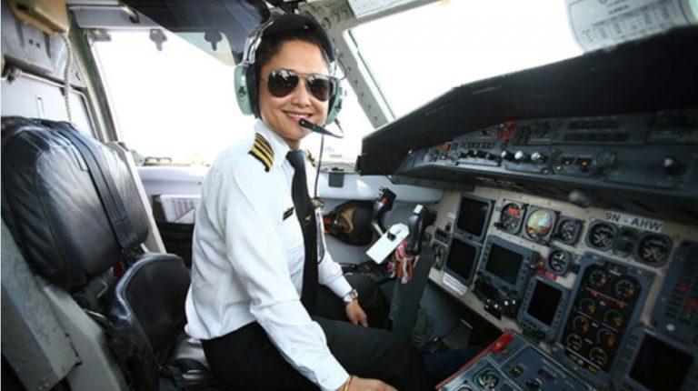 Female-pilot